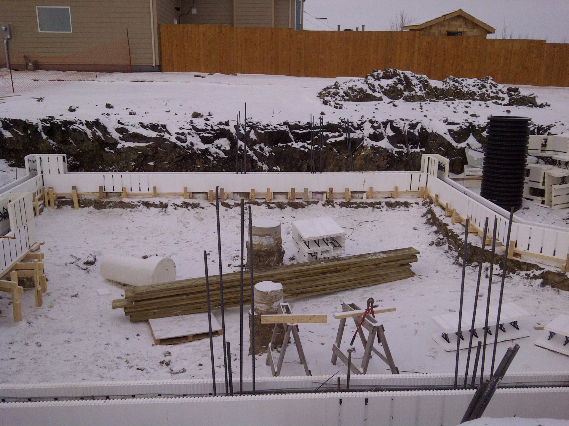 Insulated Concrete Forms For House Plans